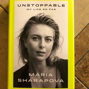 "Maria Sharapova autobiography ""Unstoppable"""